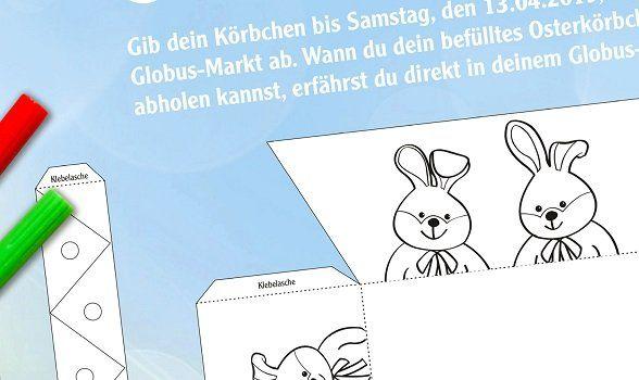 Globus: Bastle dir dein Osterkörbchen