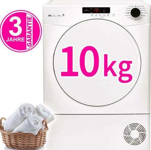 Geratek Rostock TK10000   10kg Kondenstrockner für 259,99€ (statt 299€)