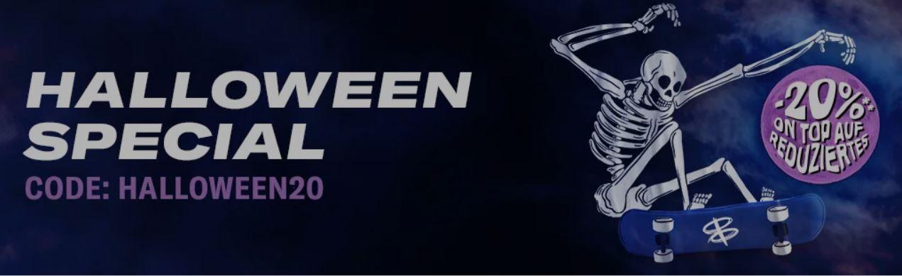 Planet Sports Halloween Special: 20% Extra Rabatt im Sale   günstige Sportartikel und Fashion