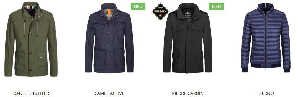 Hirmer mit 20% extra Rabatt auf Jacken und Mäntel: z.B. Napapijri Steppjacke für 207,20€ (statt 259€)