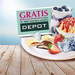 Kauf eine Lindt Sommertafel und erhalte einen Depot-Gutschein gratis