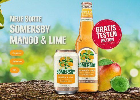 Somersby Mango & Lime kostenlos ausprobieren