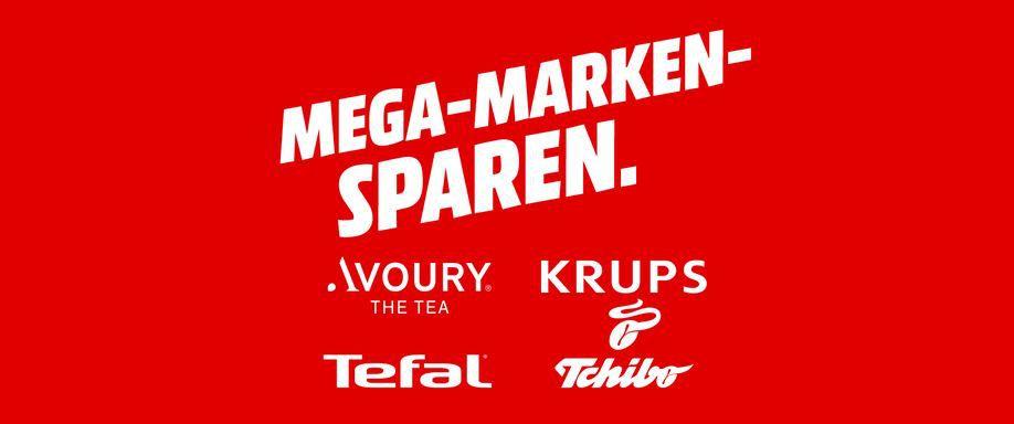 Media Markt Mega Marken Sparen: günstiges von AVOURY, KRUPS, TCHIBO & TEFAL: z.B. TEFAL DV8610 Steam n Press für 19,99€ (statt 54€)