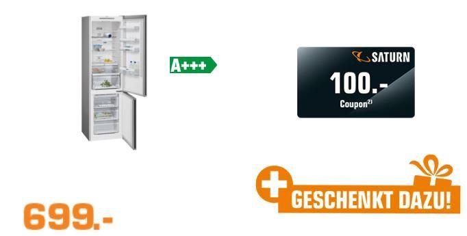SIEMENS KG39NVL45 iQ300 Kühlgefrierkombination A+++ für 699€ +100€ Coupon (statt 719€)