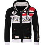 Geographical Norway Flyer-Me Herren Sweat Jacke für 34,90€ (statt 49€)