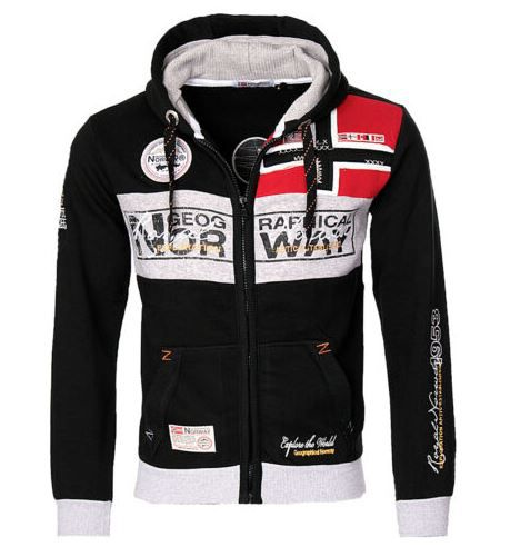 Geographical Norway Flyer-Me Herren Sweat Jacke für 37,90€ (statt 49€)