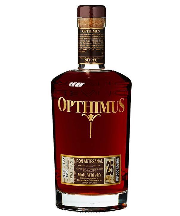 Vorbei! Opthimus 25 Jahre Rum 0,7l Flasche für 59,99€ (statt 74€)