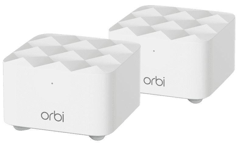 Netgear Orbi RBK12 Mesh Wlan Doppelpack ab 109,99€ (statt 186€)
