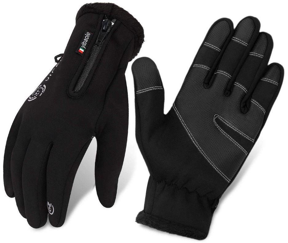 warme Winddichte Herren Handschuhe Touchscreenfähig für 7,19€ (statt 12€) Prime
