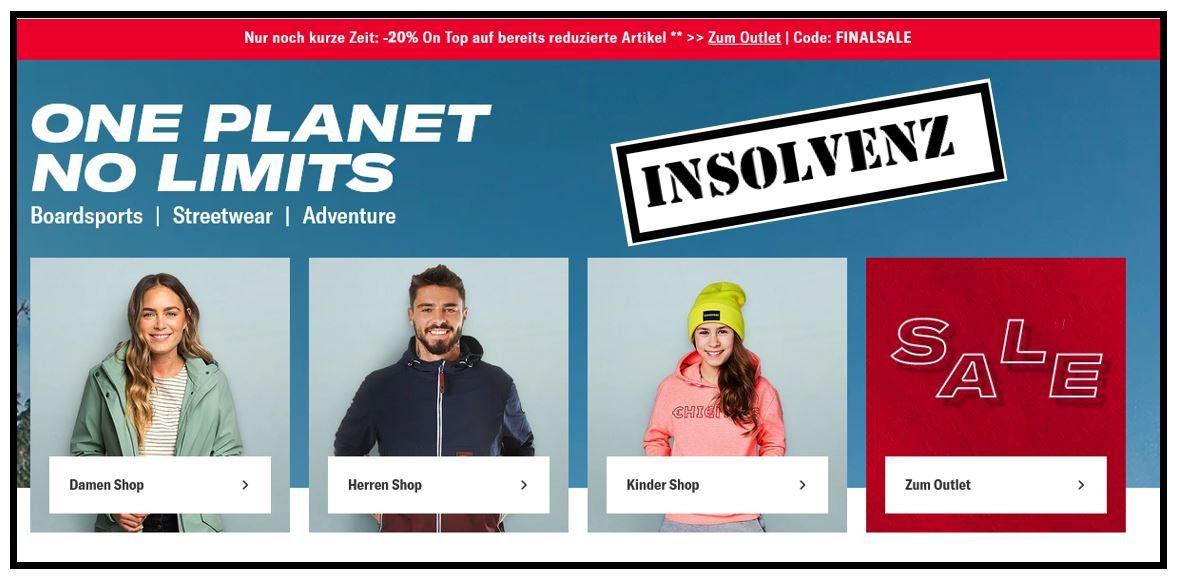 Info: Planet Sports Insolvenz   der Geschäftsbetrieb läuft weiter