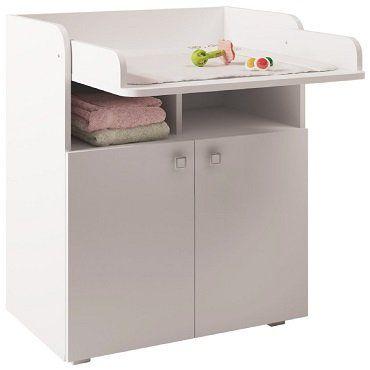 Polini Kids Wickelkommode Simple 1270 in weiß für 64,99€ (statt 88€)