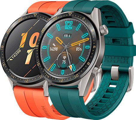 Huawei Watch GT Active Smartwatch in Orange oder Grün für 88€ (statt 100€)