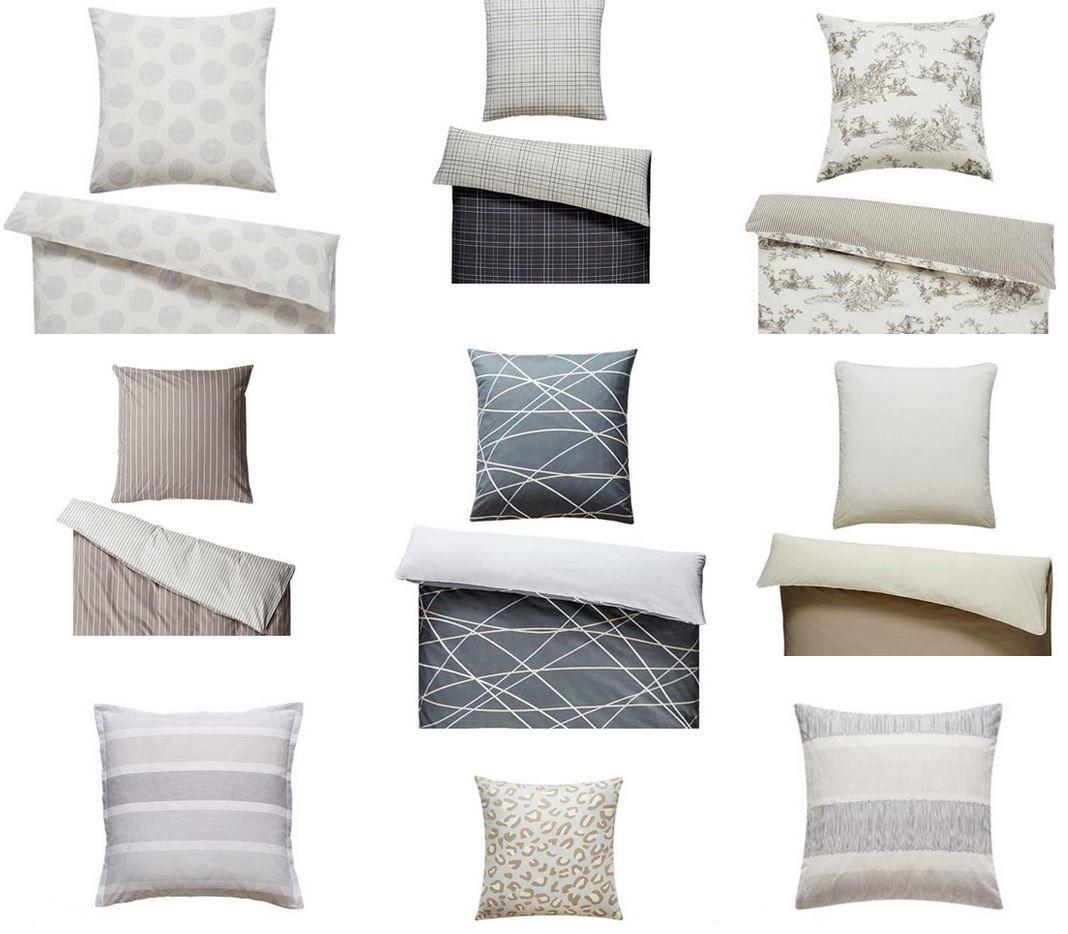Homestory Bettwäschebezüge Set für 2x Kopfkissen + 2 x  Bettdecke für 30,90 (statt 36€)