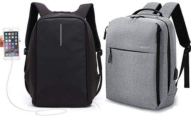 UBaymax 15,6 Zoll Laptoprucksack in Grau oder Schwarz für je 19,99€ (statt 40€)