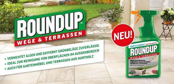 Roundup® Wege & Terrassen kostenlos ausprobieren