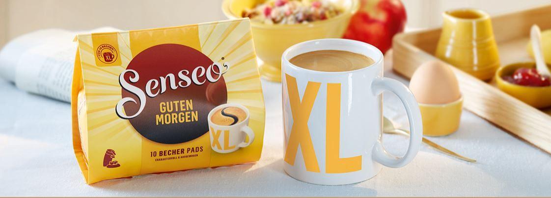 Guten Morgen 100 SENSEO Kaffeepads für 16,58€ (satt 24€)