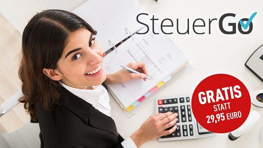 """Computer Bild: Gutscheincode für """"SteuerGo Plus"""" gratis (statt ca. 30€) abholen"""