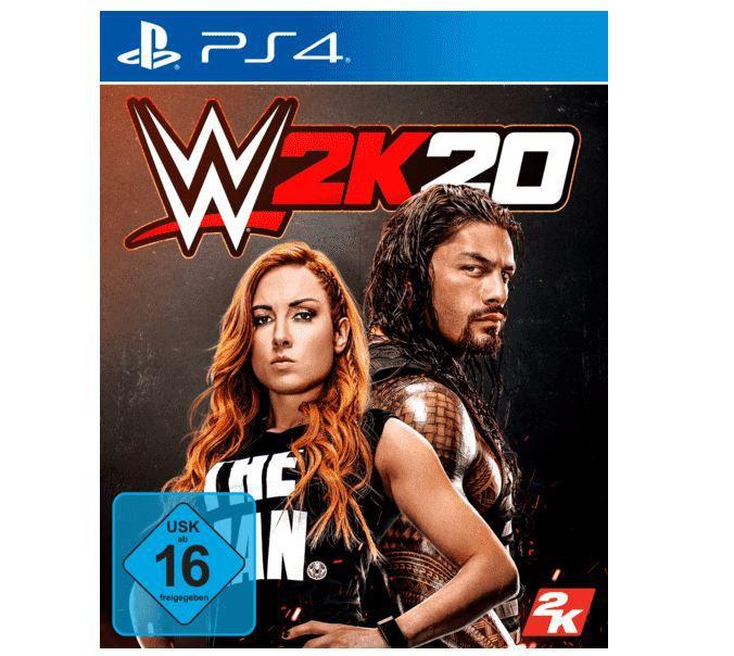 TOP! Saturn Entertainment Weekend Deals   z.B. WWE 2K20   PS 4 Game für 5,99€ (statt 22€)