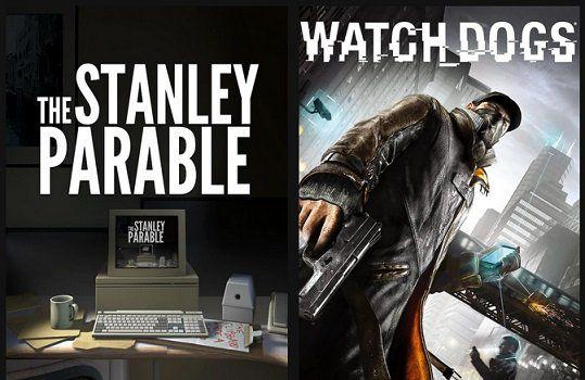 Epic Games: The Stanley Parable (IMDb 8,5/10) & Watch Dogs (IMDb 7,6/10) gratis