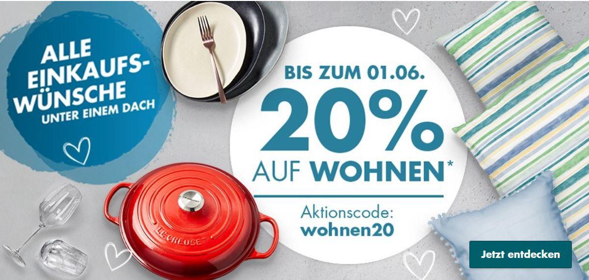 Galeria Pfingst Deal mit 20% Rabatt auf Damen, Herren, Kinder Fashion & Wohnen