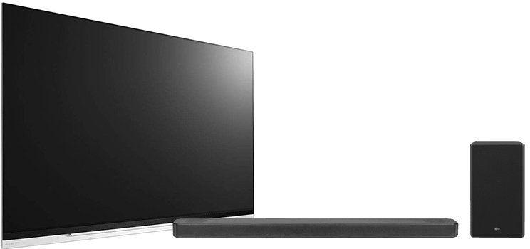 LG OLED55E97 UHD 55 Zoll TV + LG SL8 Soundbar für 1.699€ (statt 1.927€)