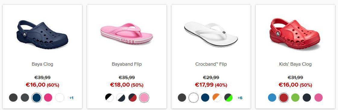 🔥 Crocs Mid Season Sale bis 60% Rabatt + VSK frei