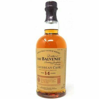 The Balvenie Carribean Cask Single Malt Scotch Whisky (14 y.o., 43 Vol. %, 0,7 l) für 49,99€ (statt 55€)