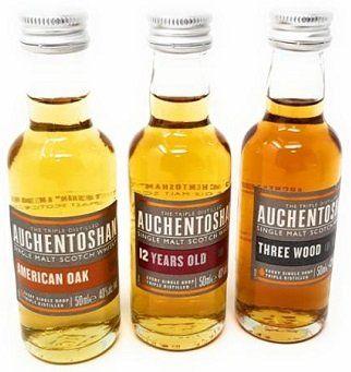 Auchentoshan Miniaturen Single Malt Scotch Whisky Set (3 x 5 cl) für 15,99€ (statt 23€)