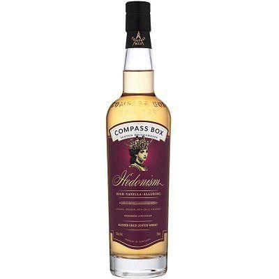 Vorbei! Compass Box Hedonism Blended Scotch Whisky (43 Vol. %, 0,7 l) für 59,99€ (statt 70€)