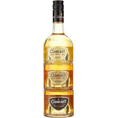 Clontarf Trinity Irish Whiskey Single Malt Whisky (3 x 0,2l, 40 Vol. %) für 19,99€ (statt 28€)