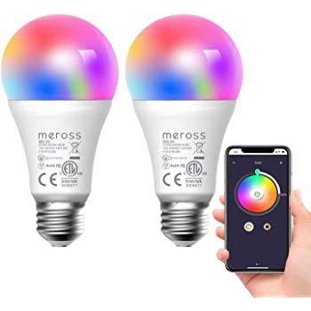 2er Pack: meross WLAN RGB LED Glühbirnen für 14,99€   Prime