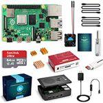 Raspberry Pi 4 Model B Kit mit 4GB & 64GB SD-Karte für 86,24€ (statt 115€)