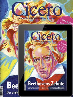 4 Ausgaben Cicero Print & Digital für 43,80€ + 33,84€ Verrechnungsscheck