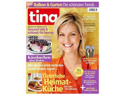 52 Ausgaben der Tina Zeitschrift für 87,88€ + 70€ Gutschein (Amazon uvm.)
