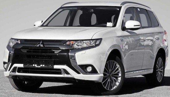 Mitsubishi Outlander Diamant Edition Hybrid mit 135 PS im Leasing für 267,54€mtl.   LF: 0.64