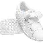 Puma Vikky Ribbon Satin Kinder Leder-Sneaker für 23,94€ (statt 29€)