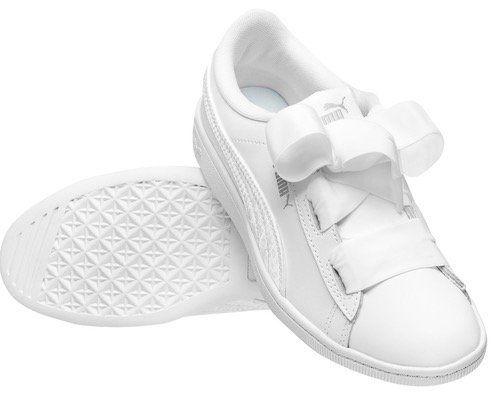 Puma Vikky Ribbon Satin Kinder Leder Sneaker für 23,94€ (statt 29€)