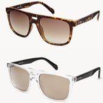 Fossil Duval Rectangle Herren Sonnenbrille für je nur 38€ (statt 75€)