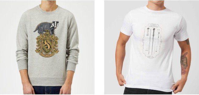 Harry Potter Pullover + T Shirt für 21,99€(statt 47€)