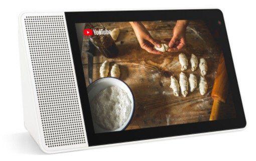 Lenovo Smart Display mit Google Assistant (10.1 FullHD IPS Display) für 88€ (statt 130€)