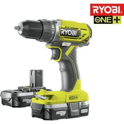 RYOBI ONE+ 18V Akku Bohrschrauber inkl. 2 Akkus und Tragetasche für 75,90€ (statt 130€)
