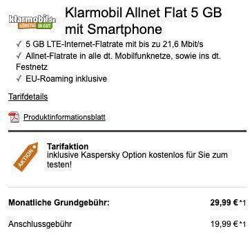Xiaomi Mi 10 128GB + 32″ Xiaomi TV für 29€ + Vodafone Flat mit 5GB LTE für 29,99€ mtl.