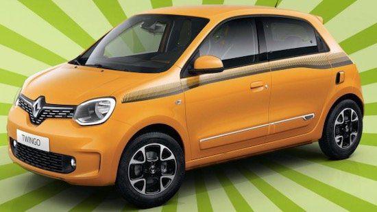 Renault Twingo mit 73 PS im Privatleasing für 77€ mtl.   LF: 0.58