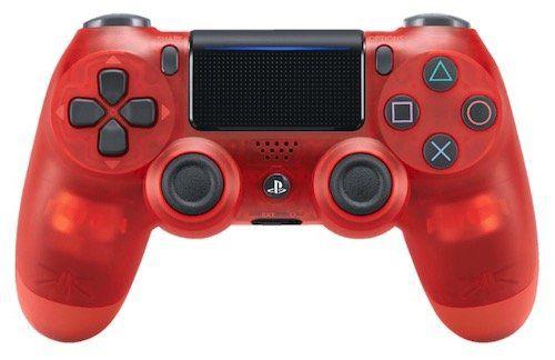 Vorbei! Sony DualShock 4 V2 Controller in Red Crystal für 40,99€ (statt 50€)
