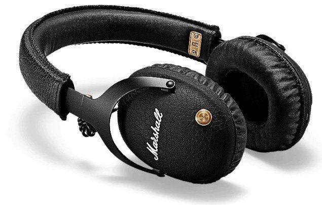 Marshall Monitor Bluetooth Over Ear Kopfhörer in Schwarz für 120,22€ (statt 134€)