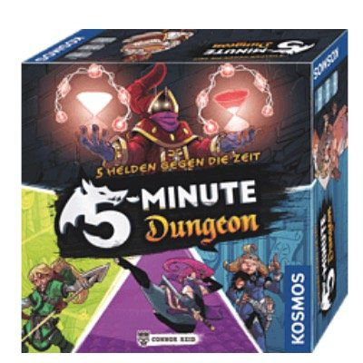 Vorbei! OSMOS 692889 5 Minute Dungeon Realtime Spiel für 11,98€ (statt 19€)