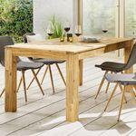 Gartentisch aus Akazie ca. 180x90cm für 150€ (statt 340€)