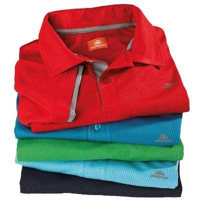 5er Pack Nordcap Funktions-Poloshirts in verschiedenen Farben + Rucksack mit Kühlfach für 63,99€ (statt 100€)