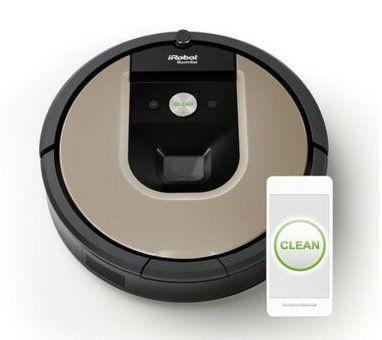 iRobot Roomba 965 Saugroboter mit App Steuerung für 206,10€ (statt 401€)   gebrauchte Ware