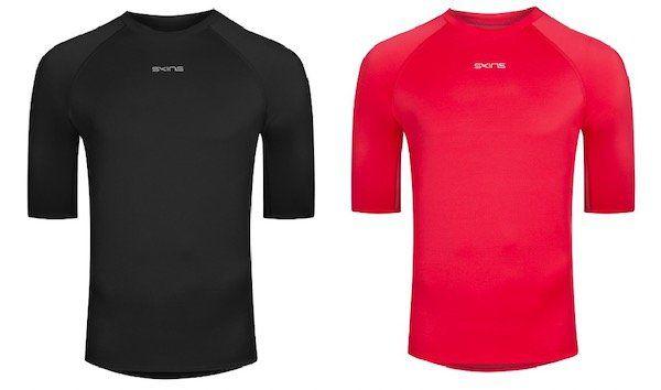 Skins DNAmic Force Herren Kurzarm Funktionsshirts für je 5,55€ + VSK (statt 18€)